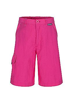Regatta Kids Sorcer Shorts - Pink