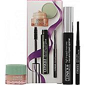 Clinique High Impact Mascara Gift Set 7ml High Impact Mascara + 5ml All about Eyes + 0.028gr Skinny stick