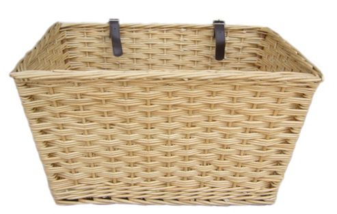 Buy Wicker Valley Extra Large Rectangular Bicycle Basket