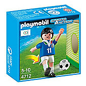 Playmobil Soccer Player - Italy 4712