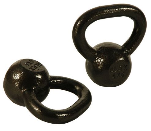 Alex 2 x 4kg Kettlebell Set Cast Iron