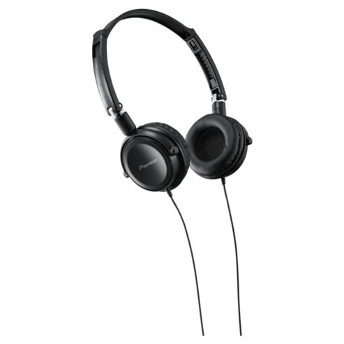 Pioneer Fully Enclosed Headphones with Swivel Black SE-MJ511-K