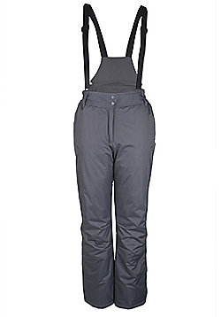 Moon Womens Ski Pants - Dark grey