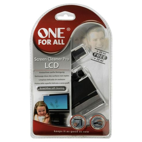 One For All Screen Cleaner Pro for LCD, Plasma & LED screens 8450