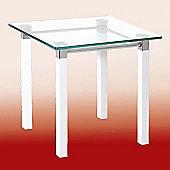 Urbane Designs Ritmo 43cm End Table in White