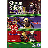 Shaun The Sheep Triple Pack (DVD Boxset)