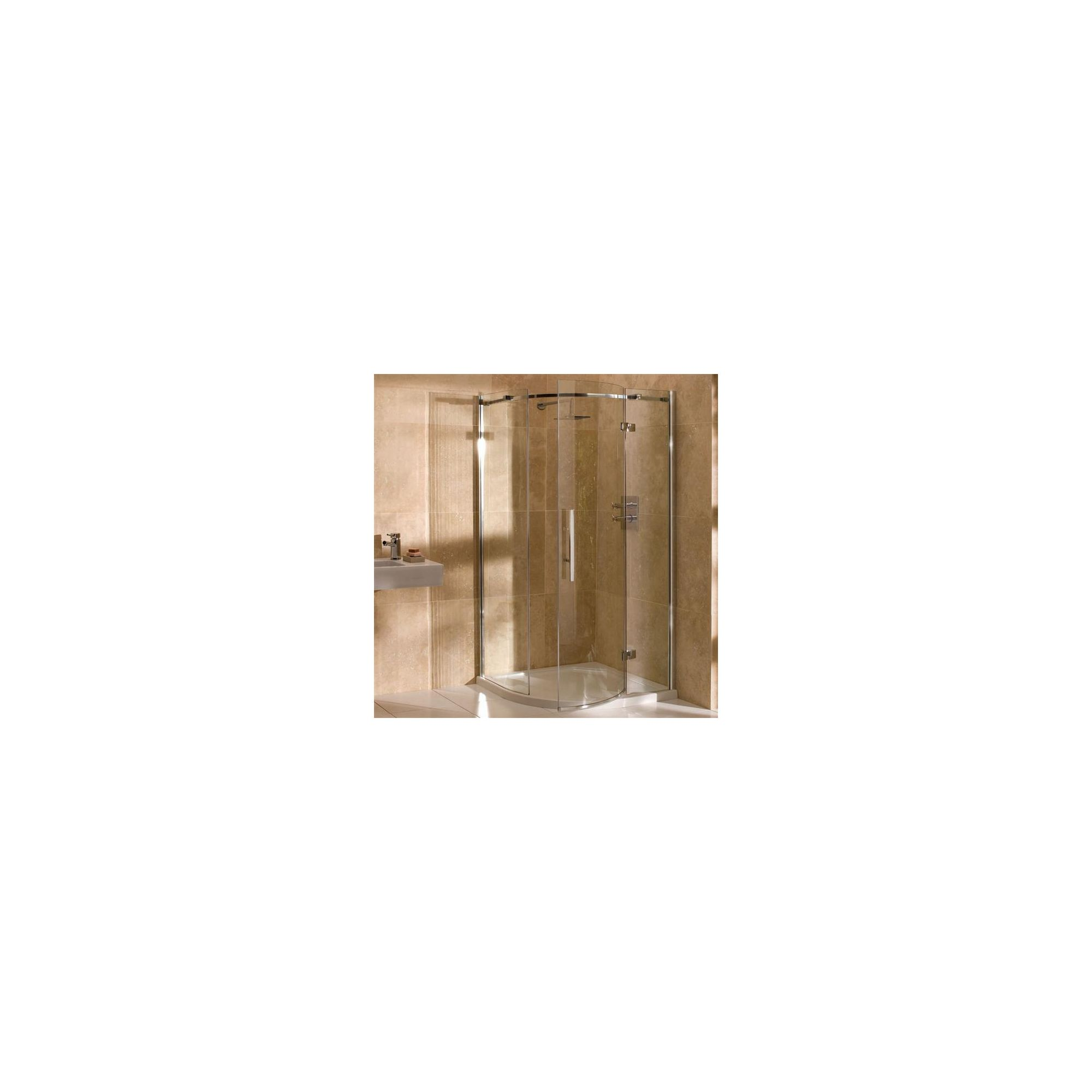 Merlyn Vivid Nine Quadrant Shower Door, 800mm x 800mm, Left Handed, 8mm Glass at Tesco Direct