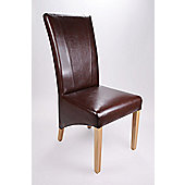 Shankar Enterprises Marseille Leather Dining Chair (Set of 2)