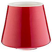 Tesco Red Ceramic Filled Candle