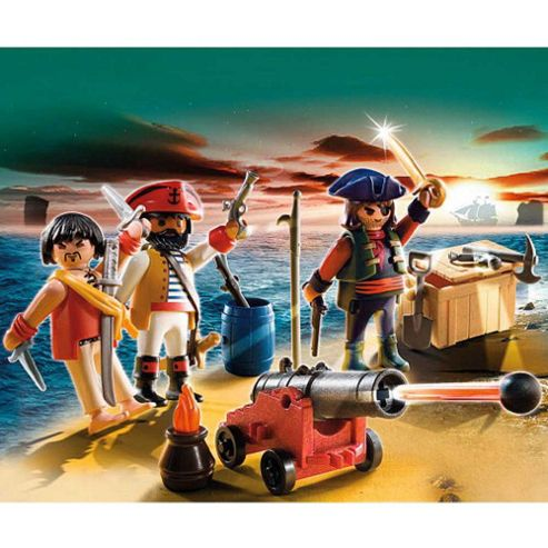 Playmobil 5136 Pirates Commander with Armory