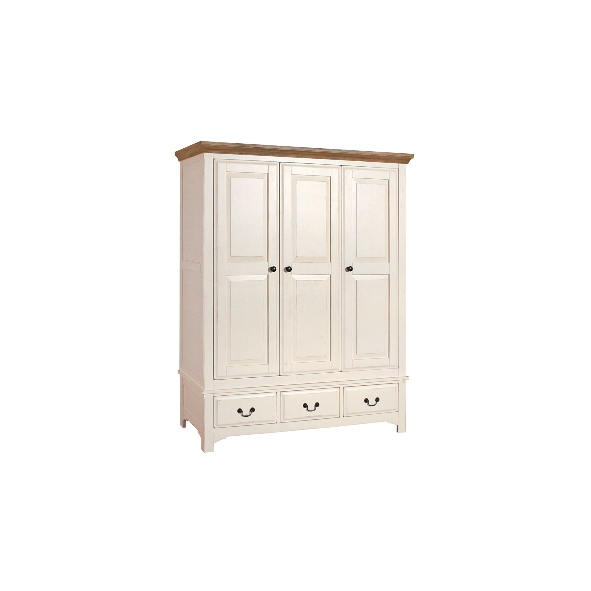 Alterton Furniture Marseille Triple Wardrobe with Drawer at Tesco Direct