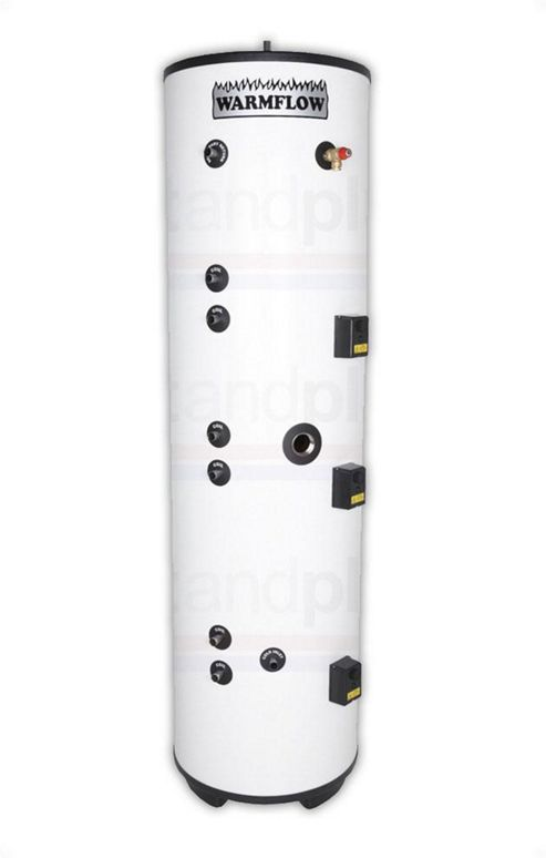 Warmflow INDIRECT Triple Coil Unvented Stainless Steel Hot Water Cylinder 300 LITRE