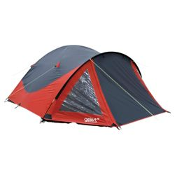Gelert Rocky 4-Man Dome Tent, Red