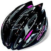 SH+ Zeuss Pro Helmet: Black/Pink S/M.