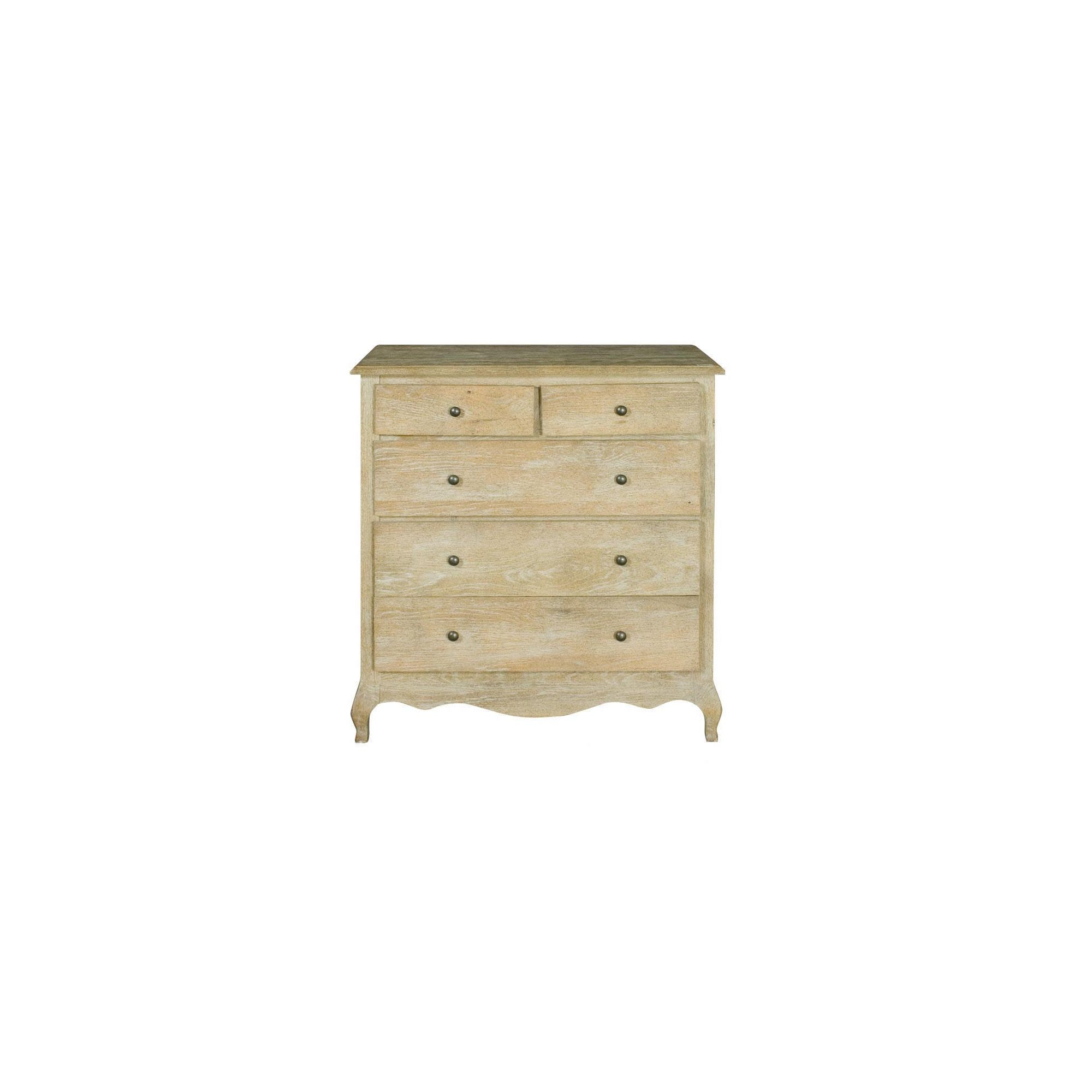 Alterton Furniture Oak 2 over 3 Drawer Chest at Tesco Direct