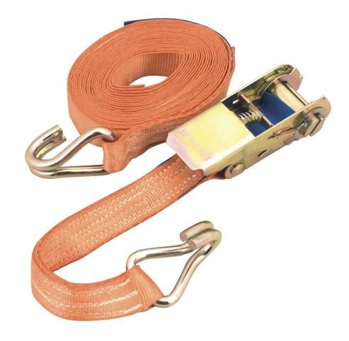 Sealey TD135 - Ratchet Tie Down 1pc 25mm x 5mtr Polyester Webbing 800kg Load Test