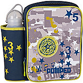 Children's Paintball Lunch Bag with Water Bottle
