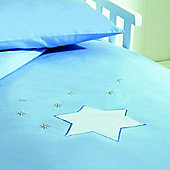 Saplings Cot Bed Quilt & Pillowcase Set - Twinkle Star