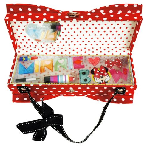 Minnie Mouse Peek A Bow Purse Make Up Set