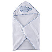 Tesco Whale Hooded Baby Towel