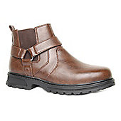 Caravelle Mens Bazooka aw 13 Brown Ankle Boot - Brown