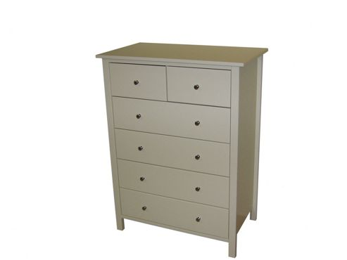 Oestergaard Silk 4+2 Drawer Chest - White