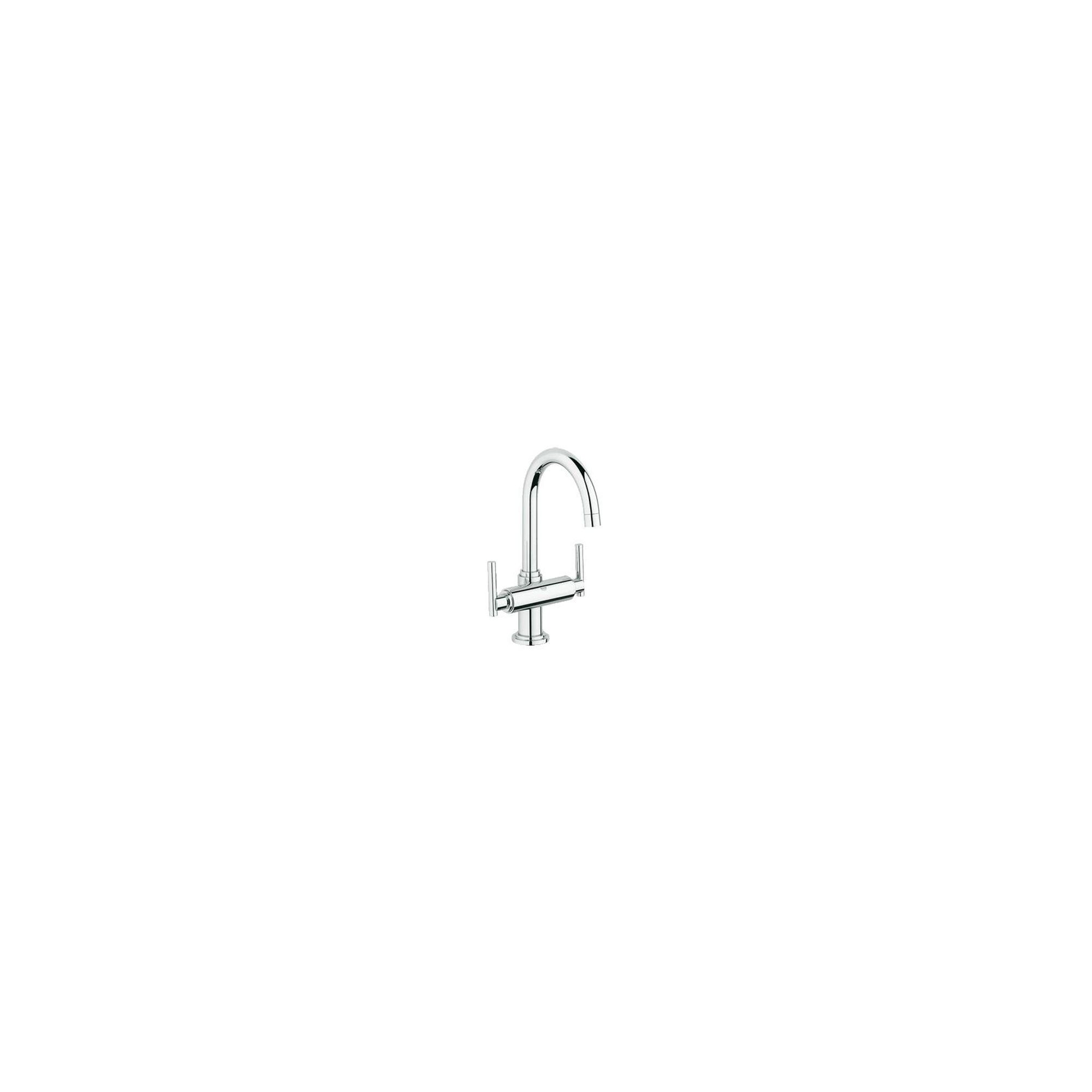 Grohe Atrio Jota Mono Basin Mixer Tap, Dual Handle, Chrome at Tesco Direct