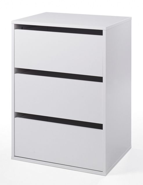 Tvilum Verona 3 Drawer Chest