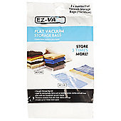 Ez-Vac 2 Piece Jumbo Flat Vacuum Storage Bag Set