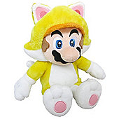 "Official Nintendo Super Mario Plush Series Stuffed Toy - 12"" Cat Mario LARGE"