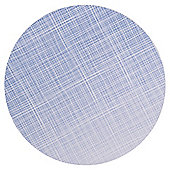 Tesco Blue Round Placemat, 4 Pack