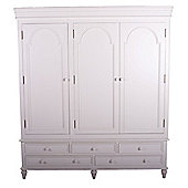 Thorndon Brittany Triple Wardrobe