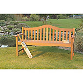 Lifestyle Sturdy 1.5M Bench in Acacia Hardwood - Easy Assembly