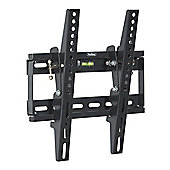 "VonHaus Tilt TV Wall Bracket for 17-37.5"" TVs - Black"