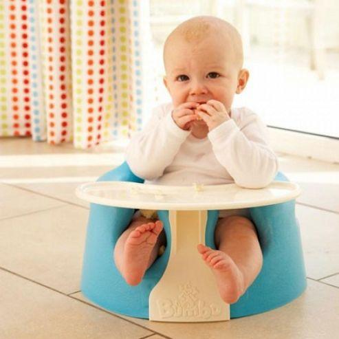 Bumbo Baby Sitter + Playtray (Aqua)