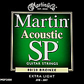 Martin SP 80/20 Bronze Exra Light 10-47