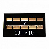 W7 10 out of 10 Brown Eyeshadow Palette 10g