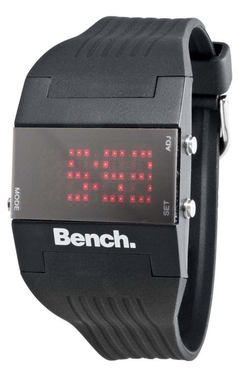 Bench Ladies LED Strap Watch BC0356BK