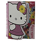 Hello Kitty Floral A5 Notebook