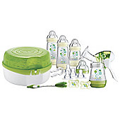 MAM Breast Feeding & Steriliser Set