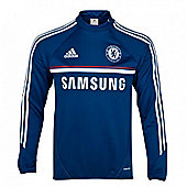 2013-14 Chelsea Adidas Training Top (Blue) - Blue