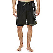 F&F Tech Board Shorts - Black