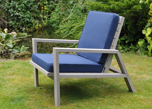 Craft outdoor reading chair