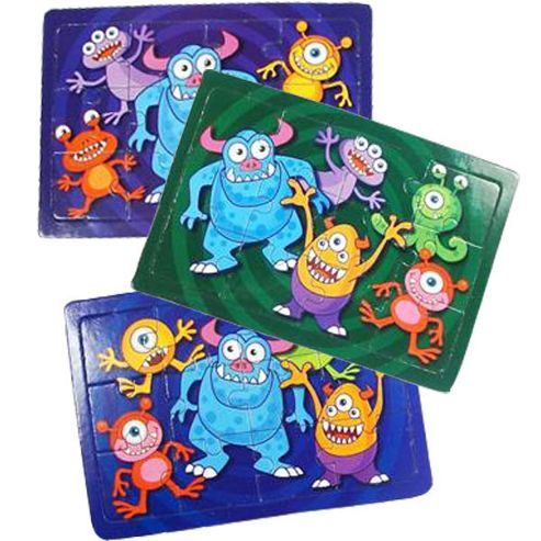Monsters Party Monster Jigsaw Puzzle (each)