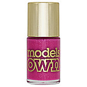 Models Own Diamond Luxe Nail colour - Radiant Pink