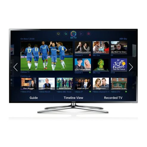 Samsung UE46F6400AKX Full HD 46 3D LED SmartTV with 200Hz & Freeview HD