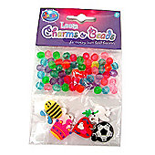 Jacks Loom Charms and Beads Refill Pack - 60 Beads