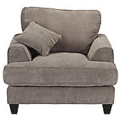 Kensington Fabric Chair Grey