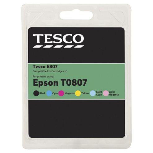 Tesco E807 Ink Cartridge - Tri-Colour