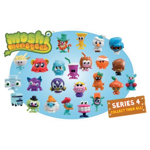 Moshi Monsters Blister Pask Series 4